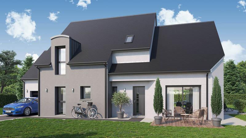 Maison neuve, 146 m² Idéal…
