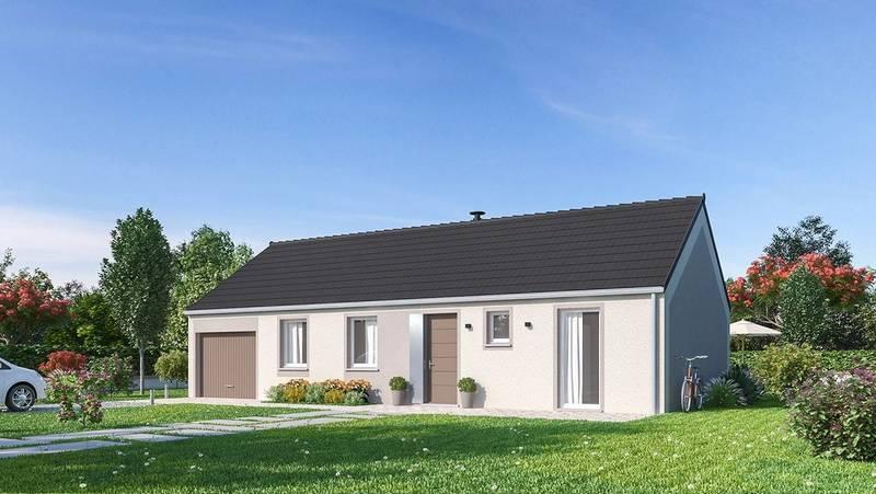 Maison neuve, 81 m² PORTE…