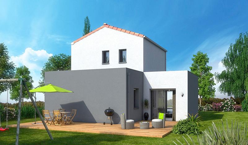 Maison neuve, 80 m² Idéal…