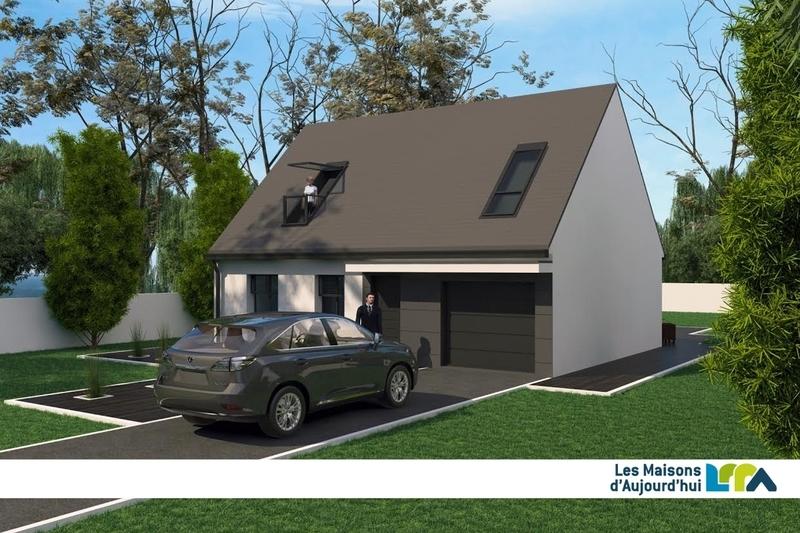 Maison neuve, 86,8 m² Terra…
