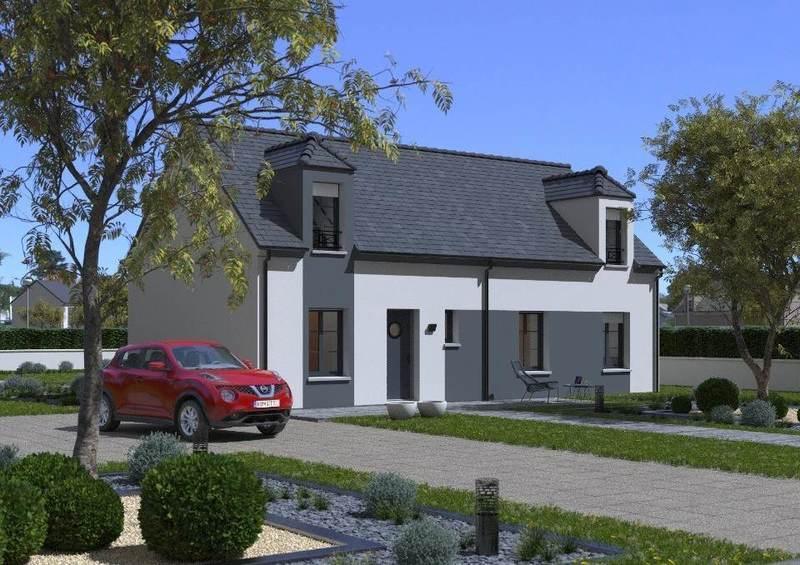 Maison neuve, 105 m² Le Me…
