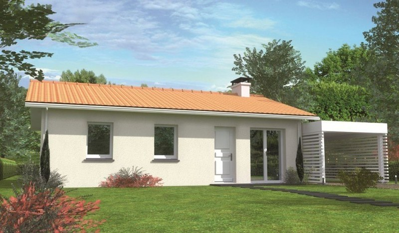 Maison neuve, 69 m² Proje…