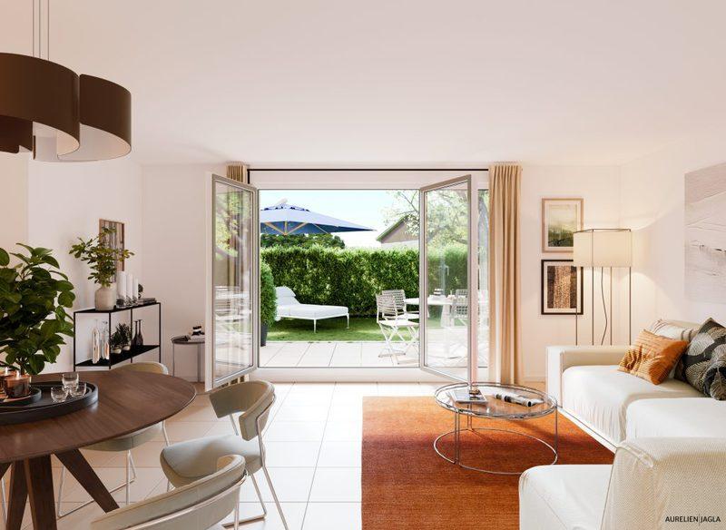 Appartement neuf, 91,57 m² Au co…