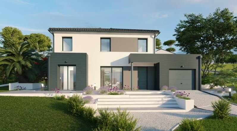Maison neuve, 137 m² Magni…