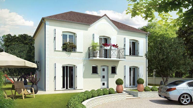 Maison neuve, 119 m² Dans …