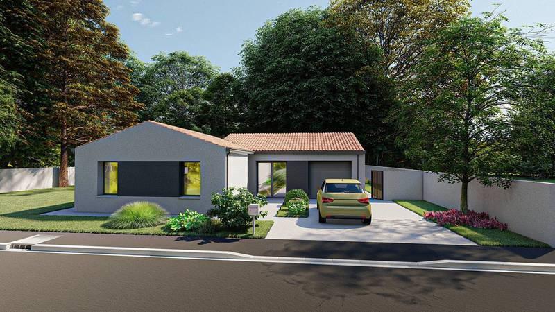 Maison neuve, 117 m² Cadre…