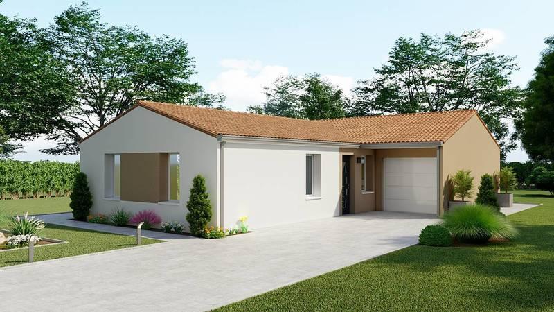 Maison neuve, 89 m² DECOU…
