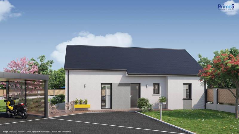 Maison neuve, 77 m² Prime…