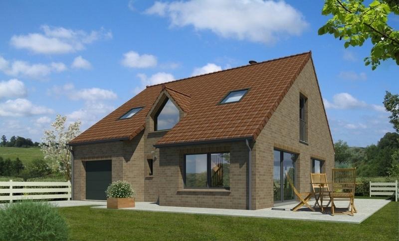 Maison neuve, 109 m² Terra…