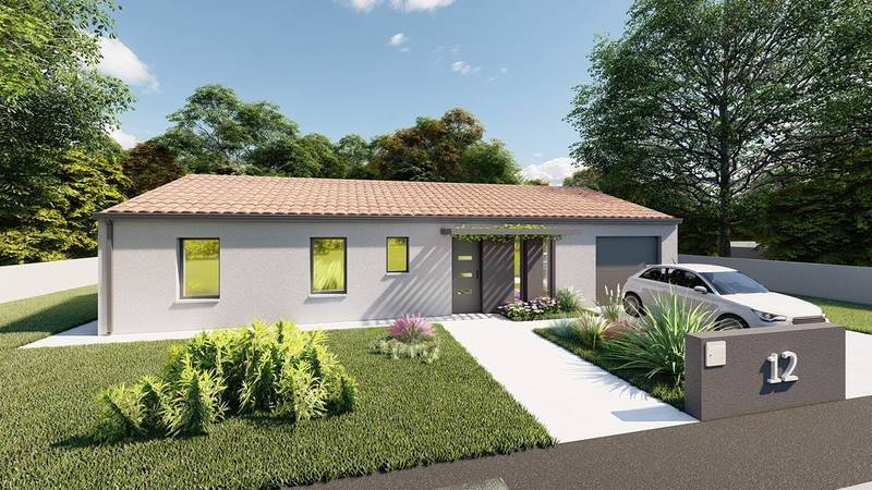 Maison neuve, 102 m² DECOU…