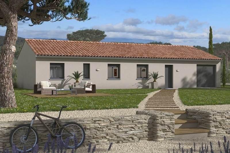 Maison neuve, 125 m² Gragn…