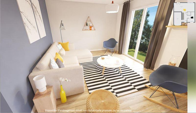 Maison neuve, 74 m² Marie…