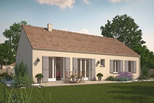 Maison neuve, 74,98 m² Proje…