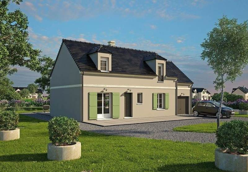 Maison neuve, 133 m² Daube…