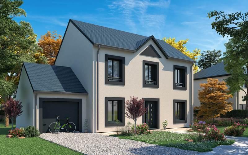 Maison neuve, 123,87 m² Beau …
