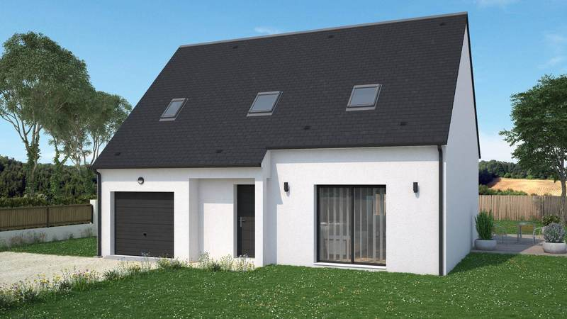 Maison neuve, 108 m² Idéal…
