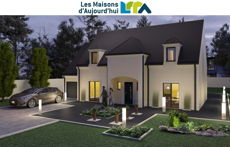 Maison neuve, 157,45 m² Terra…