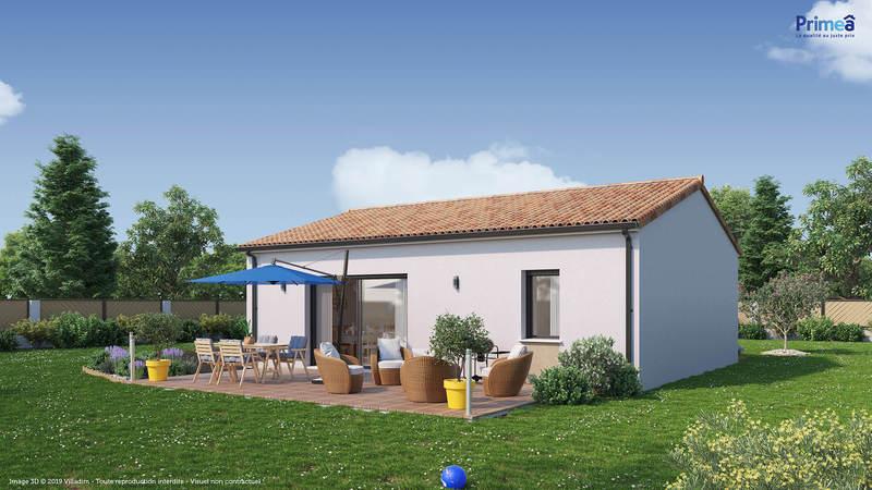 Maison neuve, 66 m² Envir…