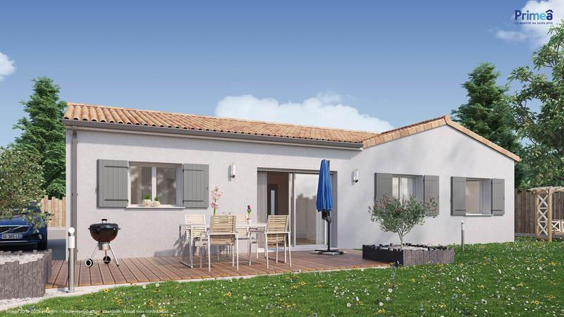 Maison neuve, 94 m² Saint…