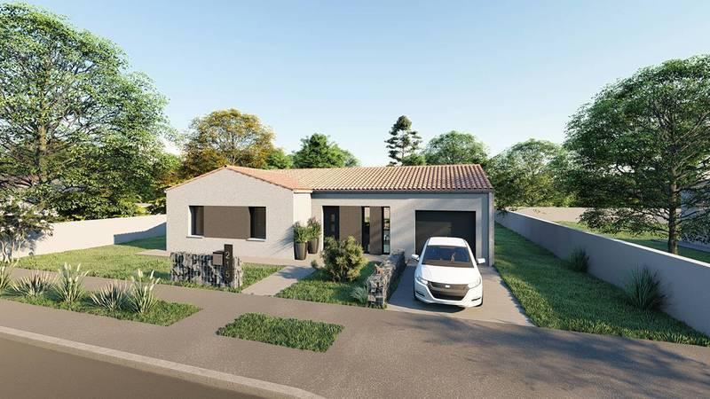Maison neuve, 101 m² DECOU…