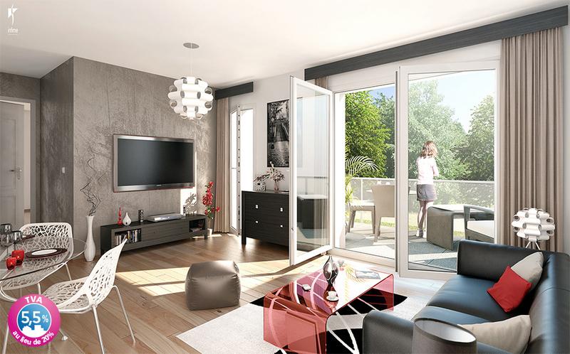 Appartement neuf, 44,28 m² VINCI…