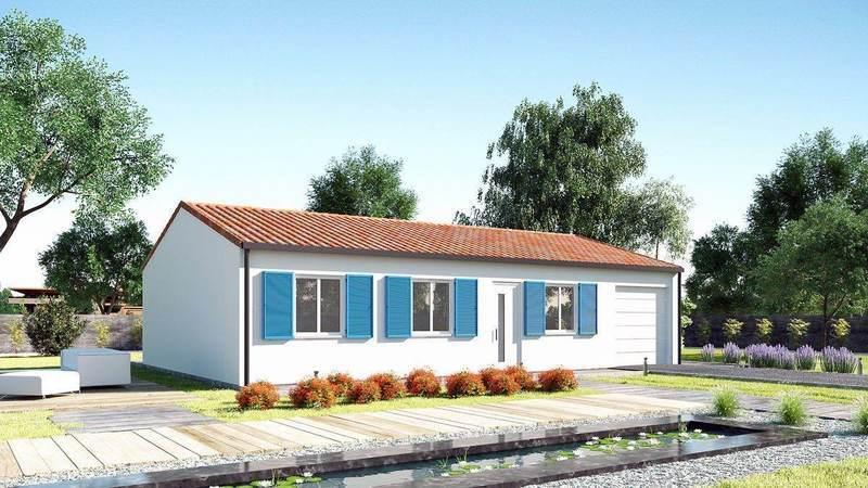Maison neuve, 78 m² De pl…