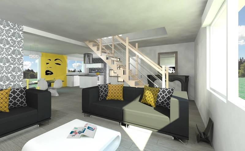Maison neuve, 121 m² Conta…