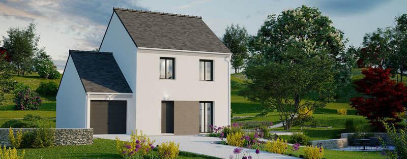 Maison neuve, 91 m² PROJE…