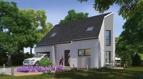 Maison neuve, 88,71 m² Sur u…