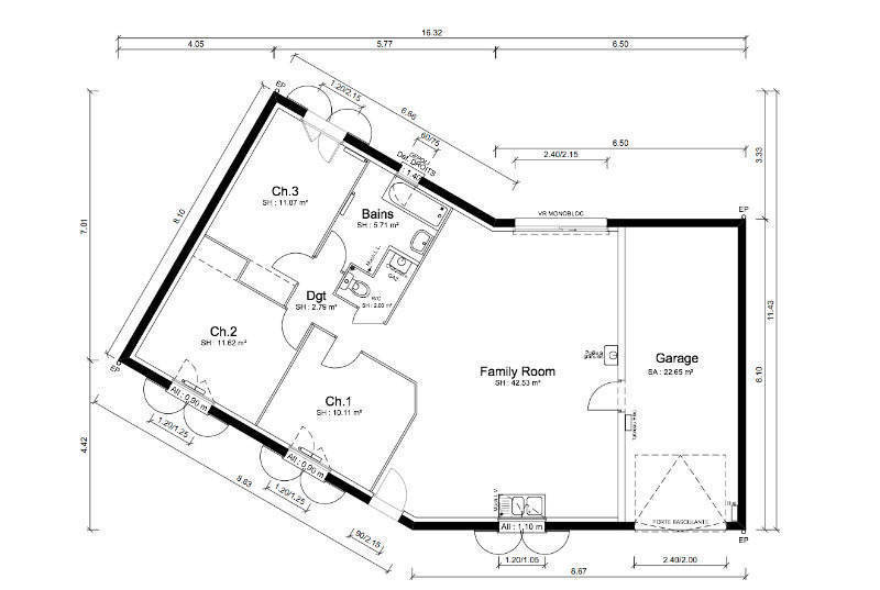 Maison neuve, 86 m² Offre…