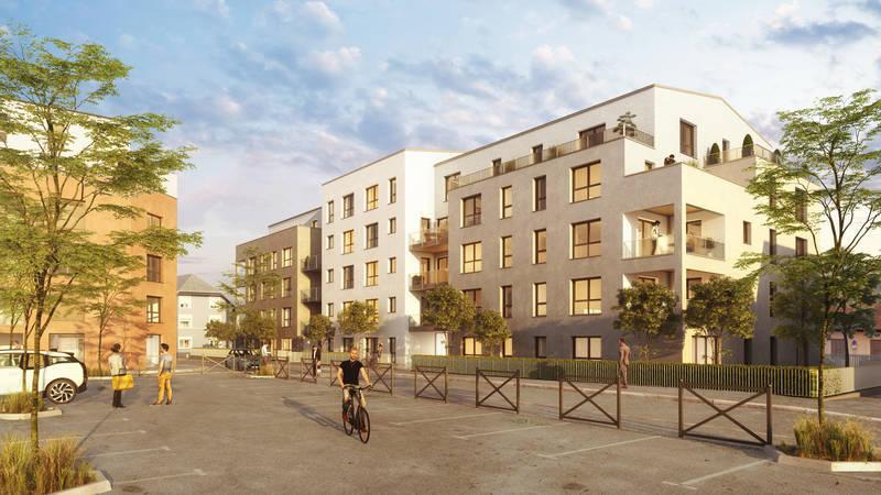 Appartement neuf, 86,5 m² Au ce…