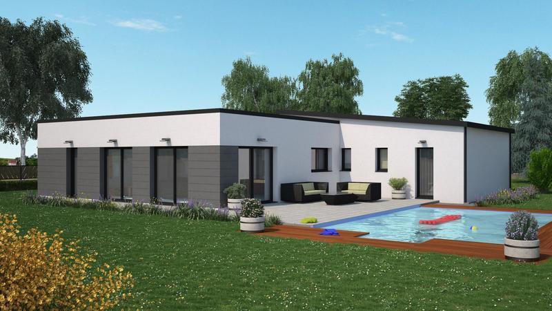 Maison neuve, 140 m² Beau …