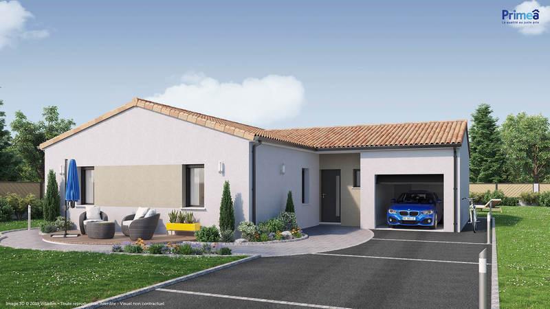 Maison neuve, 103 m² Envir…