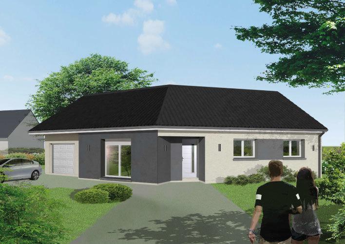 Maison neuve, 85 m² Situé…