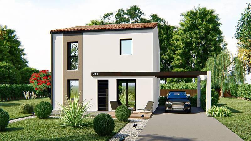 Maison neuve, 108 m² DECOU…