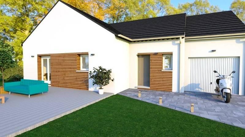 Maison neuve, 90 m² Les M…
