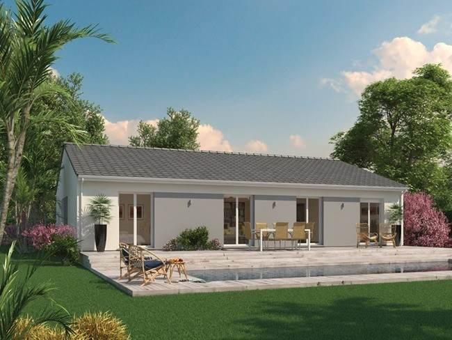 Maison neuve, 111 m² Le mo…