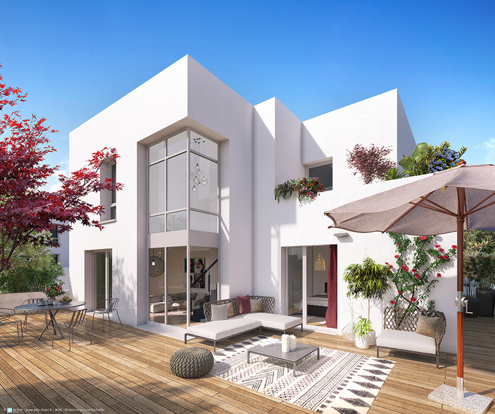 Appartement neuf, 63,6 m² Situé…