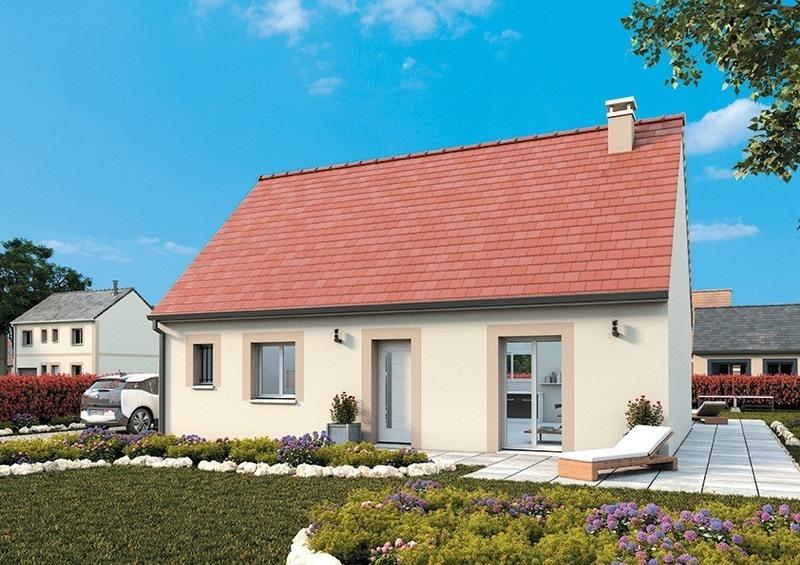 Maison neuve, 75 m² Sur l…