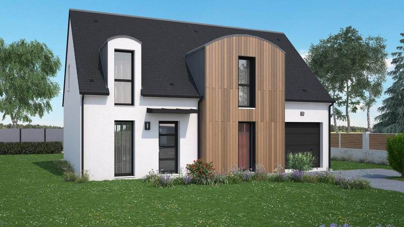 Maison neuve, 120 m² Idéal…