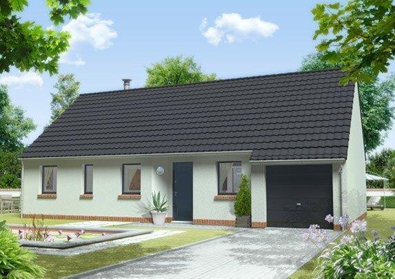 Maison neuve, 100 m² . Sit…