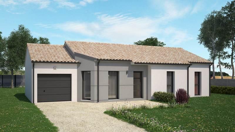 Maison neuve, 88 m² Idéal…