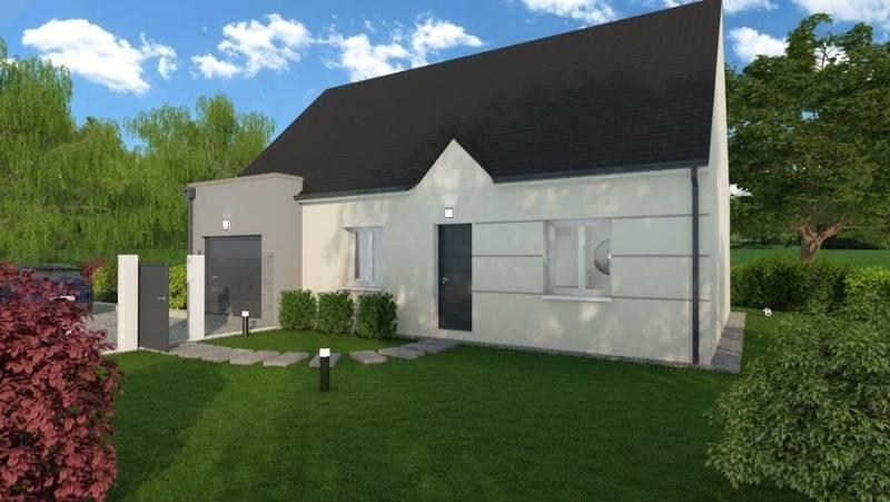 Maison neuve, 70 m² Neuvy…