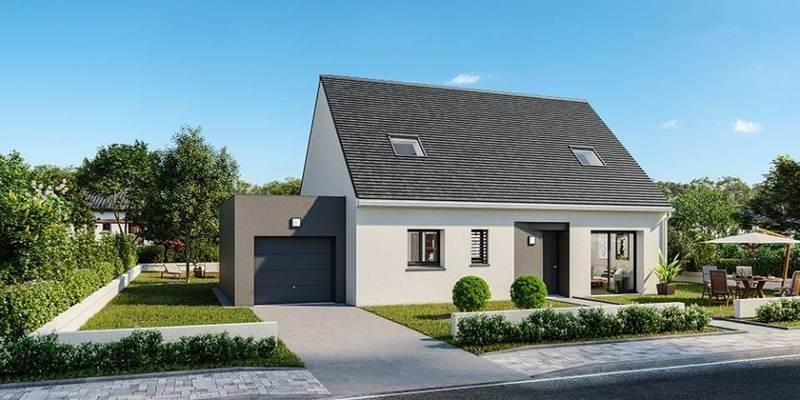 Maison neuve, 115 m² La Ch…