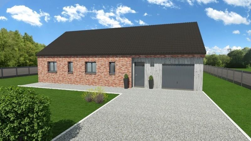 Maison neuve, 95 m² À Féc…