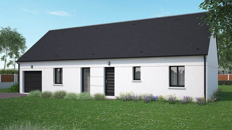 Maison neuve, 95 m² Magni…