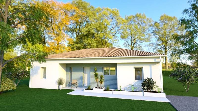 Maison neuve, 84 m² Situa…