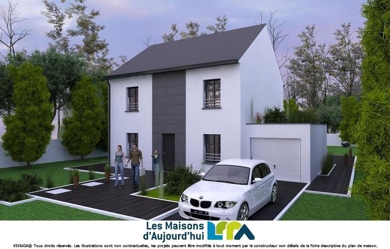 Maison neuve, 123 m² Terra…