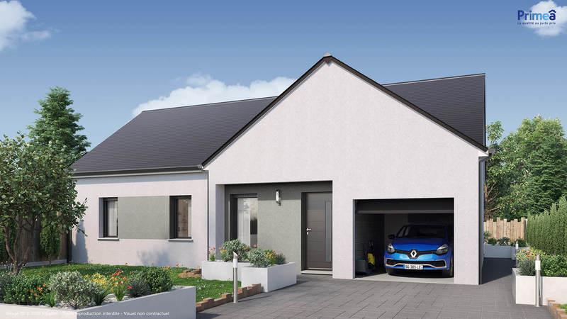 Maison neuve, 75 m² Terra…