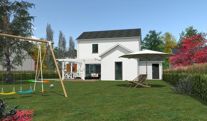 Maison neuve, 90 m² Treil…